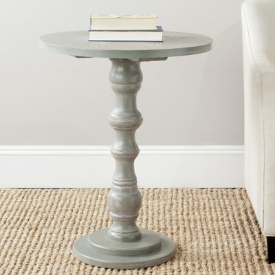 Patton End Table Color: French Grey