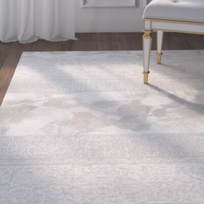 Norman Pearl Area Rug Rug Size: Rectangle 66 x 96