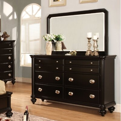 Garrick 8 Drawer Dresser with Mirror