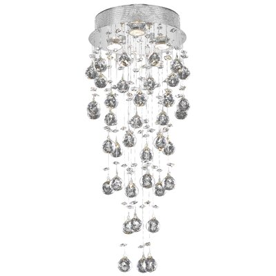 Colne 3-Light Flush Mount Crystal Grade: Spectra Swarovski