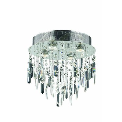 Colne 4-Light Flush Mount Crystal Grade: Spectra Swarovski