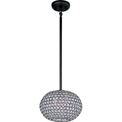 Farley Hall 3-Light Pendant Finish: Bronze, Size: 10 H x 11 W