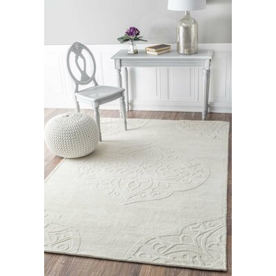Corbyn Hand-Woven Area Rug Rug Size: Rectangle 86 x 116