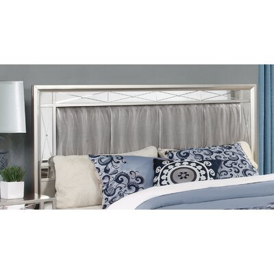 Alessia Panel Headboard Size: Full