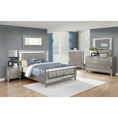 Jaqueline Panel Customizable Bedroom Set