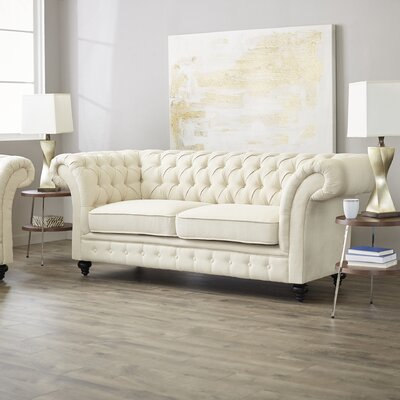 Luke Tufted Chesterfield Sofa