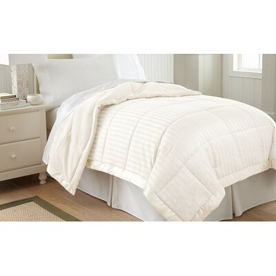 Daan Down Alternative Blanket Size: King, Color: Antique White