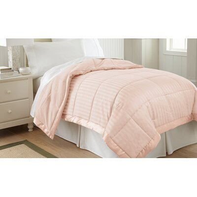 Daan Down Alternative Blanket Size: Full / Queen, Color: Blush