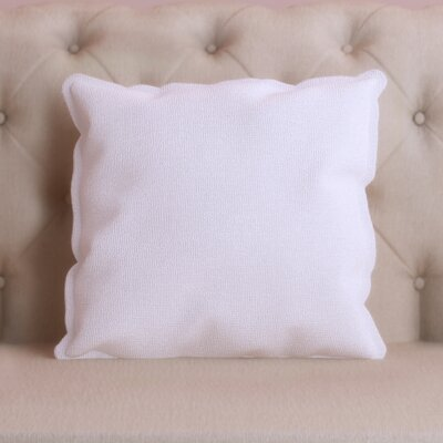 Windsor Throw Pillow Size: 18 H x 18 W x 4 D, Color: Ivory