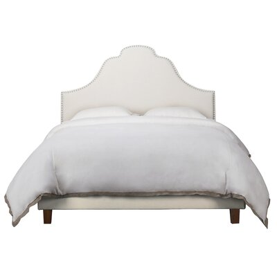 Havilland Wood Upholstered Panel Headboard Size: Queen