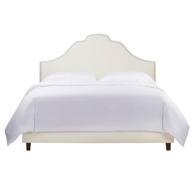 Havilland Wood Upholstered Panel Headboard Size: King
