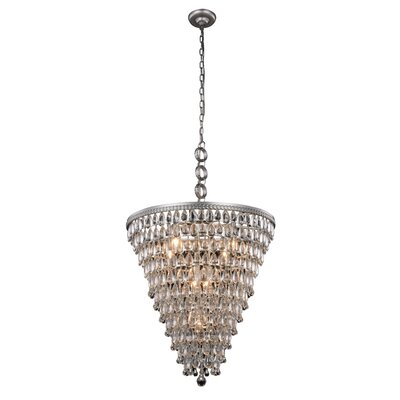Esmeraude 7-Light Crystal Chandelier