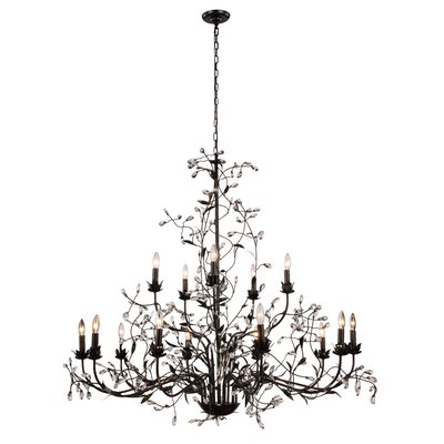 Ramsey 15-Light Candle-Style Chandelier
