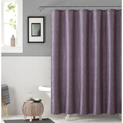 Irthlingborough Shower Curtain Color: Purple
