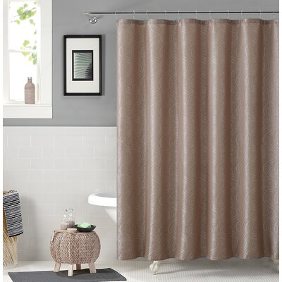 Irthlingborough Shower Curtain Color: Taupe