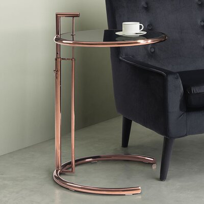 Arden End Table Color: Rose Gold
