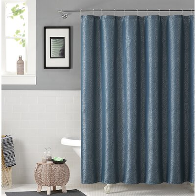 Irthlingborough Shower Curtain Color: Teal