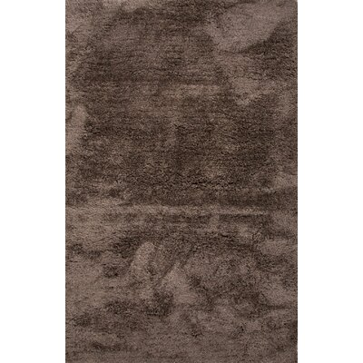 Camile Taupe/Tan Solid Area Rug Rug Size: 5 x 8