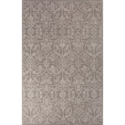 Calantha Oriental Hand-Tufted Taupe/Ivory Area Rug Rug Size: 9 x 12