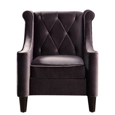 Buchanan Wingback Chair Color: Vintage Cafe