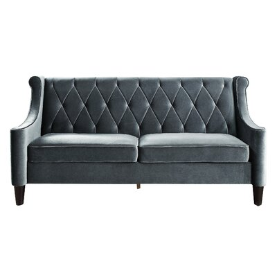 Buchanan Wingback Sofa Color: Gray