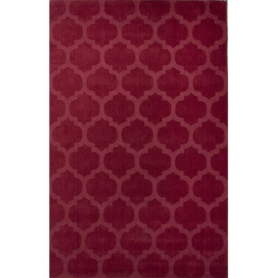 Brielle Pink Geometric Area Rug Rug Size: 2' x 3'