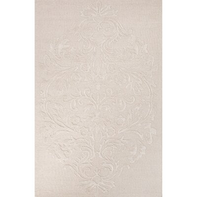 Blythe Hand-Tufted Ivory/White Area Rug Rug Size: 2 x 3