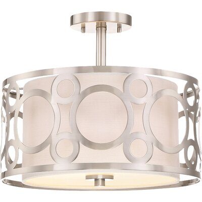 Newbury 2-Light Semi Flush Light