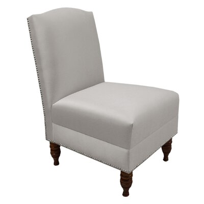 Epping Shantung Slipper Chair Finish: Silver