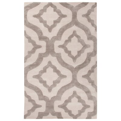 Blondell Hand-Tufted Ivory/White Area Rug Rug Size: Rectangle 5 x 8