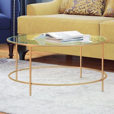 Casanova Coffee Table Color: Gold