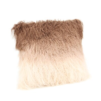 Marissa Spectrum Throw Pillow Color: Brown