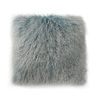 Elisha Spectrum Throw Pillow Color: Sky Blue