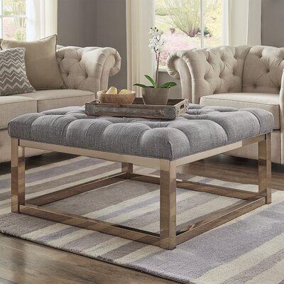 Gilham Ottoman Upholstery: Gray