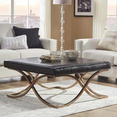 Gilham Ottoman Upholstery: Brown