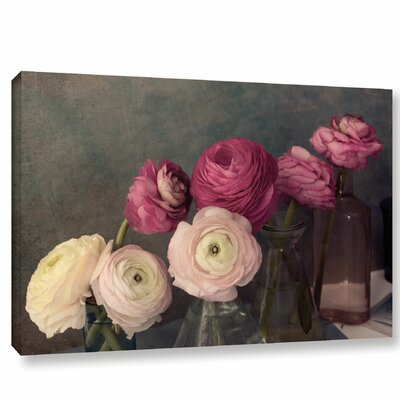 Baroque Ranunculus Framed Photographic Print Size: 12