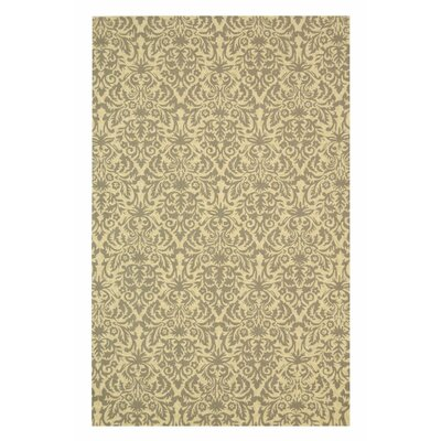 Ringwood Hand-Hooked Blue/Beige Area Rug Rug Size: Rectangle 53 x 83