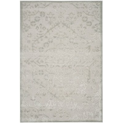 Mitchum Silver Area Rug Rug Size: Rectangle 8 x 112