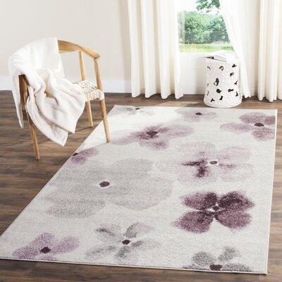 Rowley Regis Area Rug Rug Size: Rectangle 51 x 76