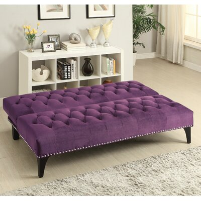 Alcaraz Sleeper Sofa Upholstery: Purple