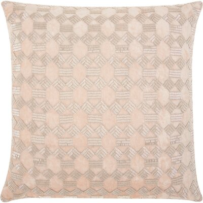 Sharonda Traditional Geometric Square Throw Pillow