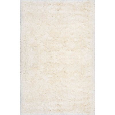 Bathurst Hand-Tufted Ivory Area Rug Rug Size: 76 x 96