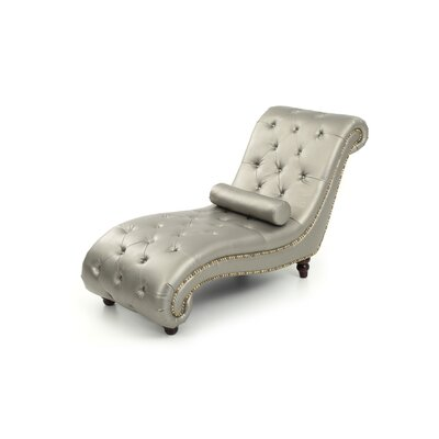 Cambridgeshire Chaise Lounge Finish: Silver Antique