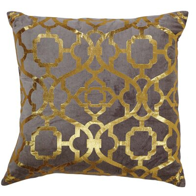 Hythe Gold Foil Throw Pillow
