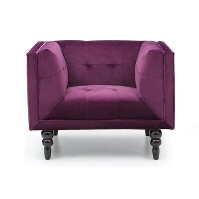 Saltburn-by-the-Sea Arm Chair Color: Wine