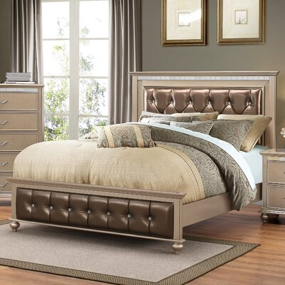Almerton Upholstered Panel Bed