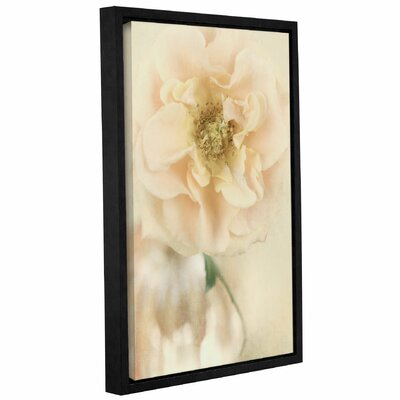 Rose III Framed Graphic Art on Wrapped Canvas Size: 12