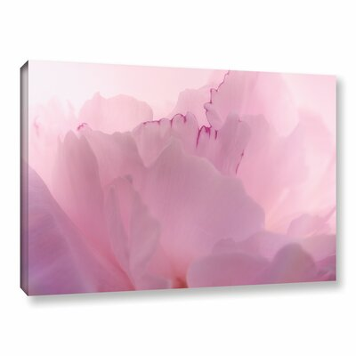 Peony II Graphic Art on Wrapped Canvas Size: 08