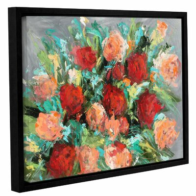 Roses are Red Framed Painting Print