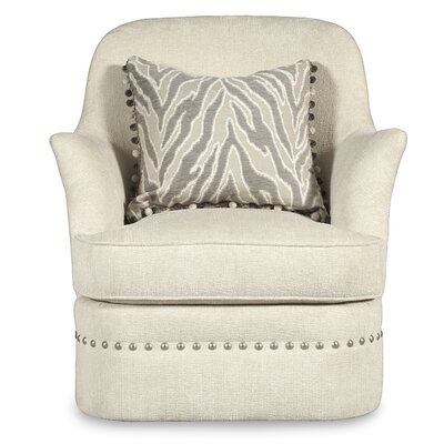 Melania Swivel Arm Chair